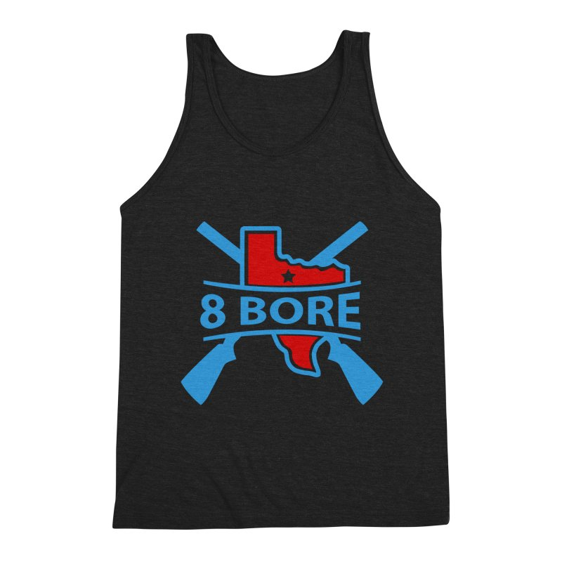 """8  Bore """"Crossed Arms"""" Logo Men's Tank by"""