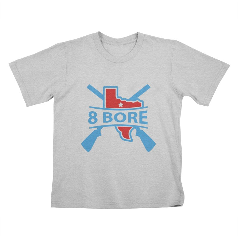 """8  Bore """"Crossed Arms"""" Logo Kids T-Shirt by"""
