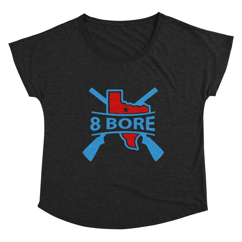 """8  Bore """"Crossed Arms"""" Logo Women's Scoop Neck by"""