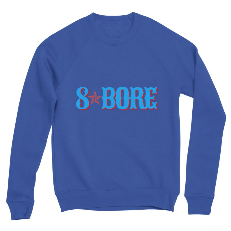 "8 Bore ""Lone Star"" Logo Men's Sweatshirt by"