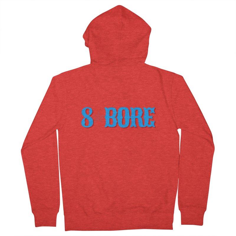 "8 Bore ""Lone Star"" Logo Men's Zip-Up Hoody by"