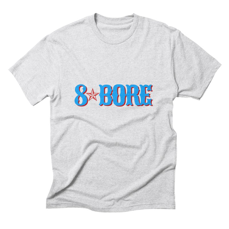 "8 Bore ""Lone Star"" Logo Men's T-Shirt by"