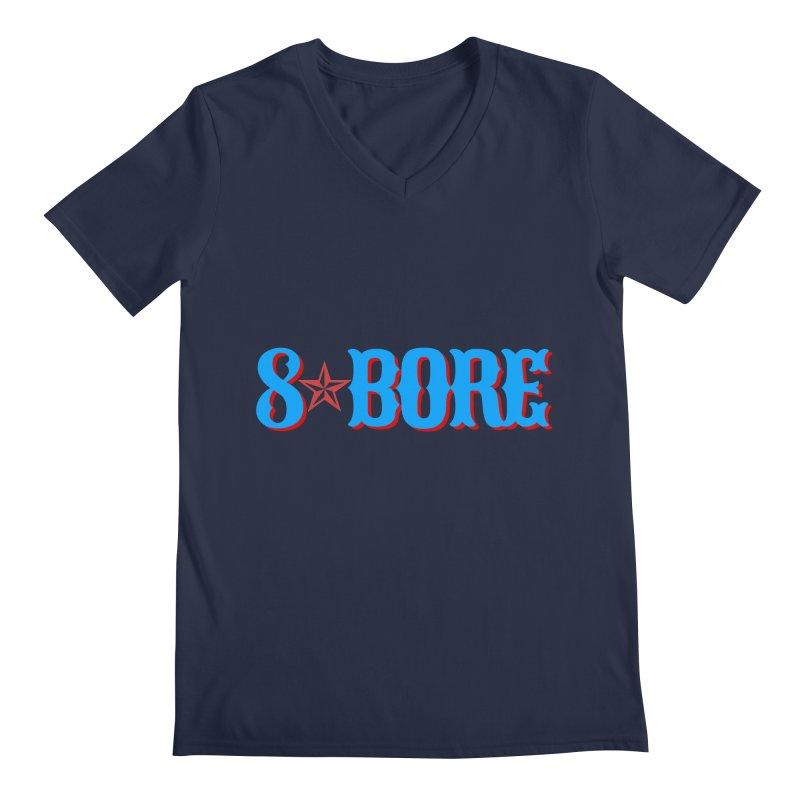 "8 Bore ""Lone Star"" Logo Men's V-Neck by"