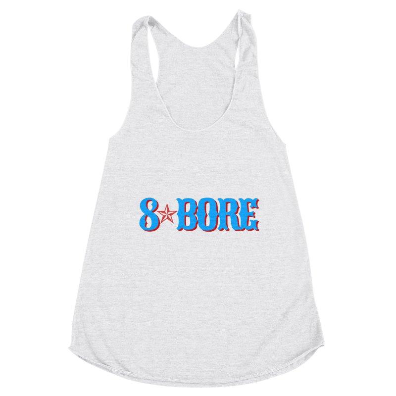 "8 Bore ""Lone Star"" Logo Women's Tank by"