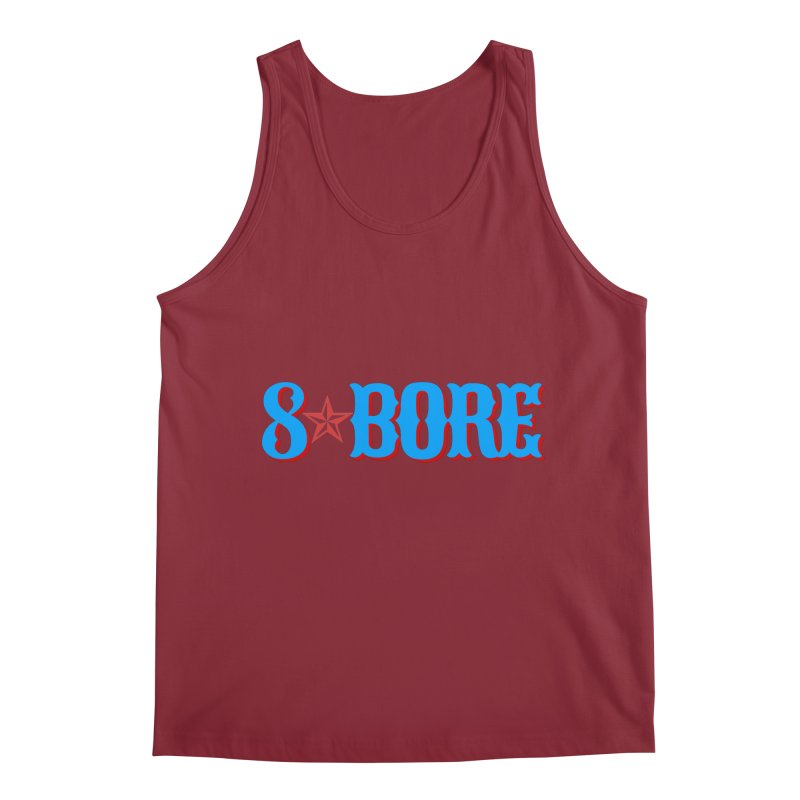 "8 Bore ""Lone Star"" Logo Men's Tank by"