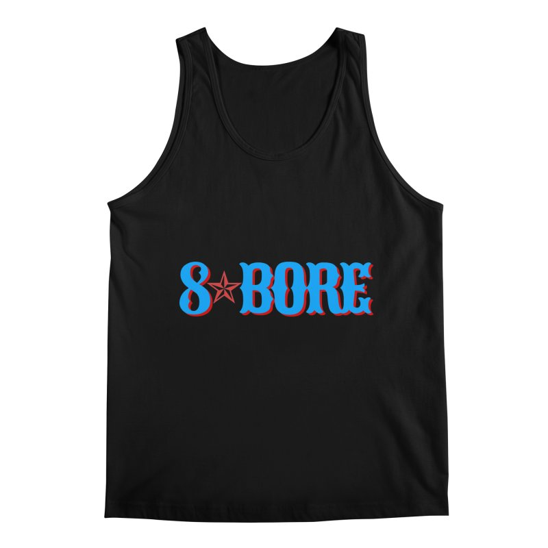 "8 Bore ""Lone Star"" Logo Men's Tank by"