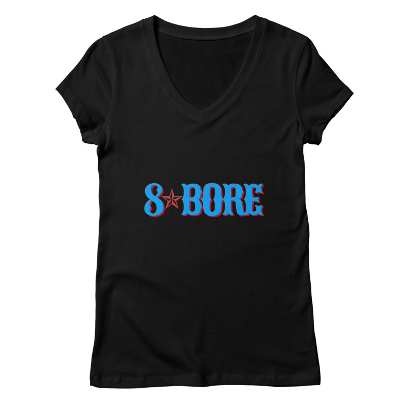 "8 Bore ""Lone Star"" Logo Women's V-Neck by"