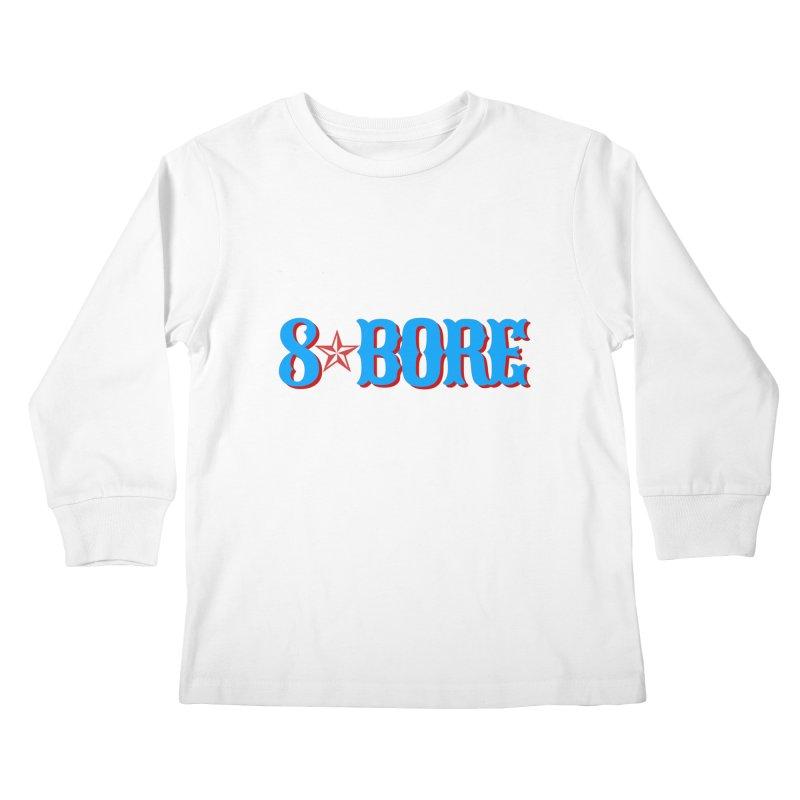 "8 Bore ""Lone Star"" Logo Kids Longsleeve T-Shirt by"