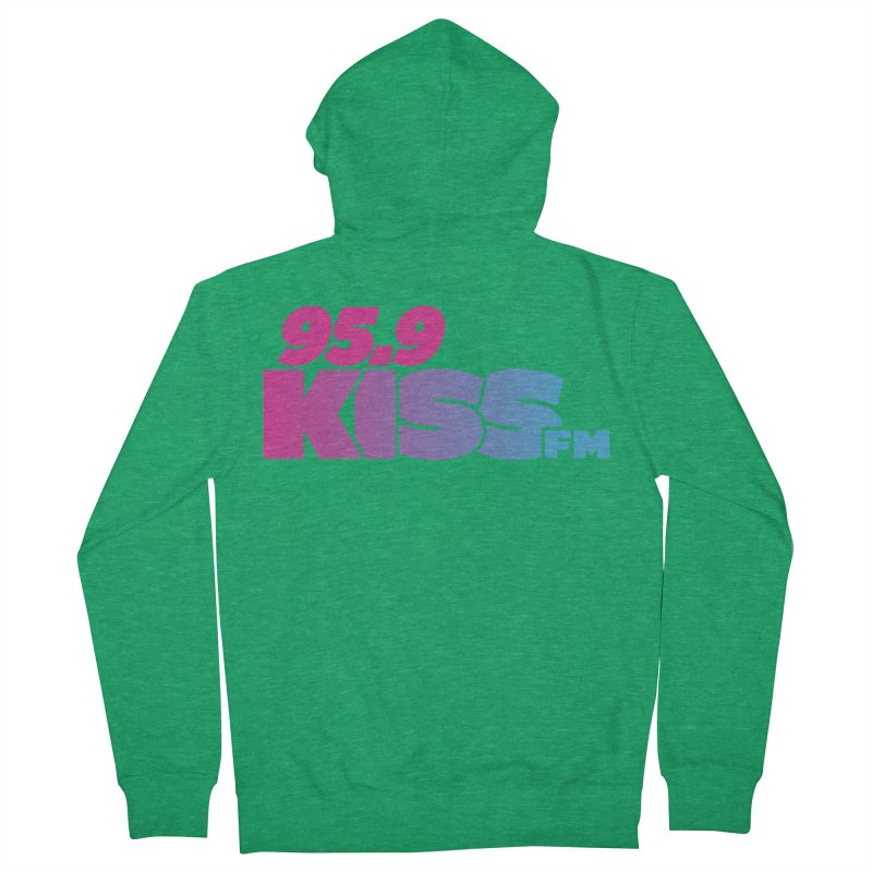 95.9 KISS-FM [2021] Women's Zip-Up Hoody by 95.9 KISS-FM's Shop