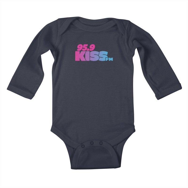 95.9 KISS-FM [2021] Kids Baby Longsleeve Bodysuit by 95.9 KISS-FM's Shop