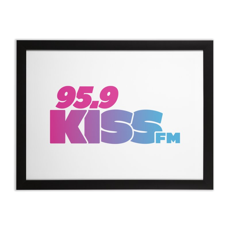 95.9 KISS-FM [2021] Home Framed Fine Art Print by 95.9 KISS-FM's Shop