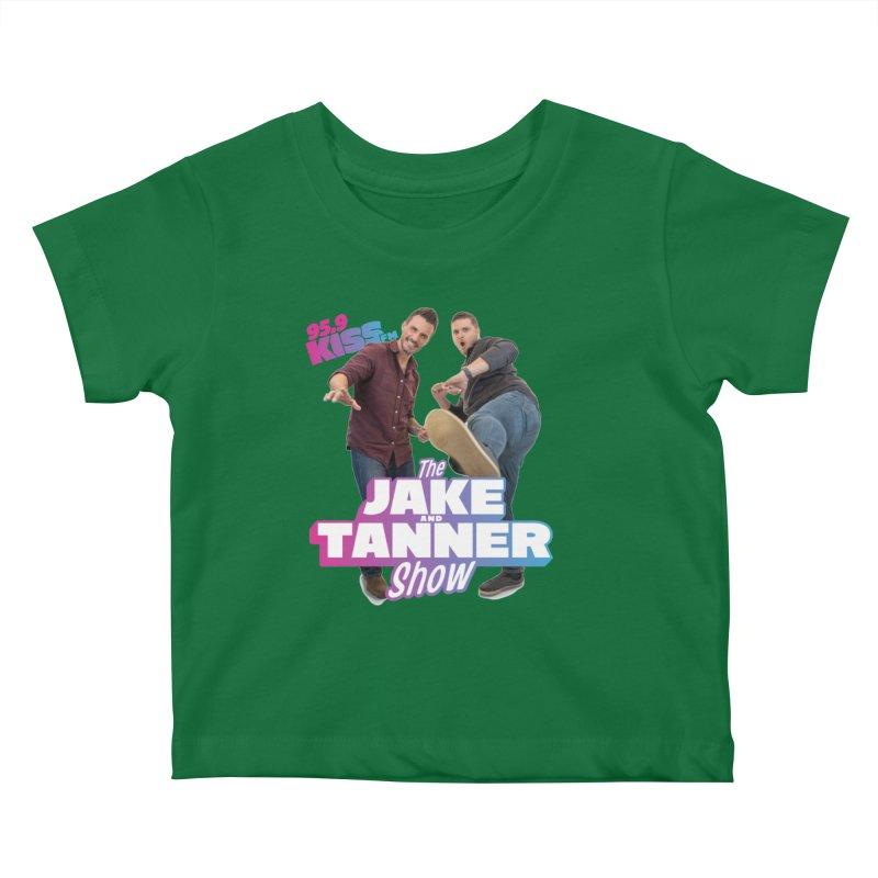 Jake & Tanner Action [2021] Kids Baby T-Shirt by 95.9 KISS-FM's Shop