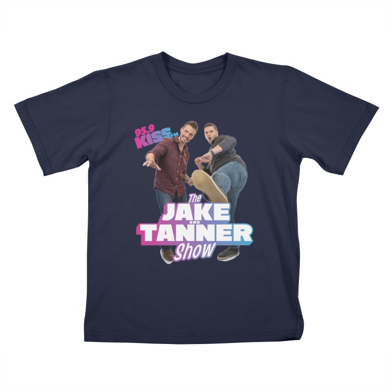 Jake & Tanner Action [2021] Kids T-Shirt by 95.9 KISS-FM's Shop