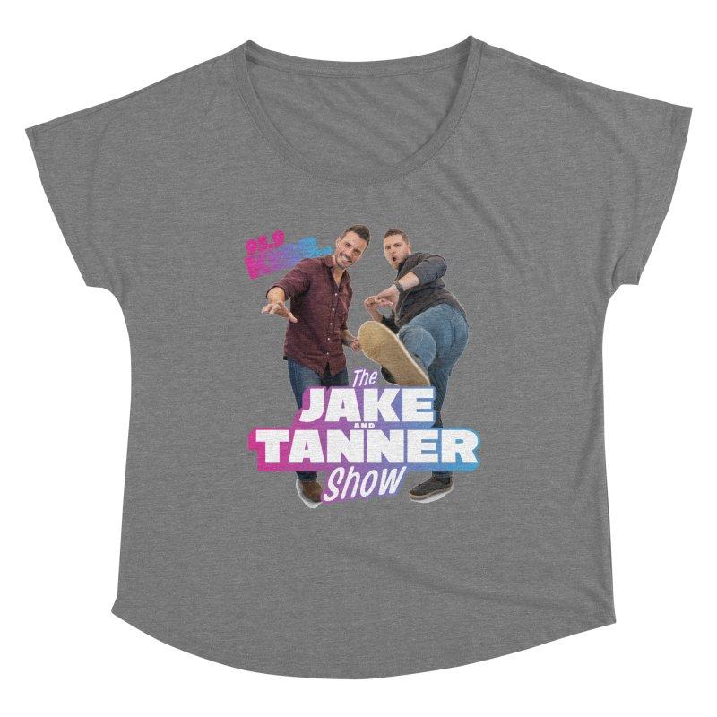 Jake & Tanner Action [2021] Women's Scoop Neck by 95.9 KISS-FM's Shop