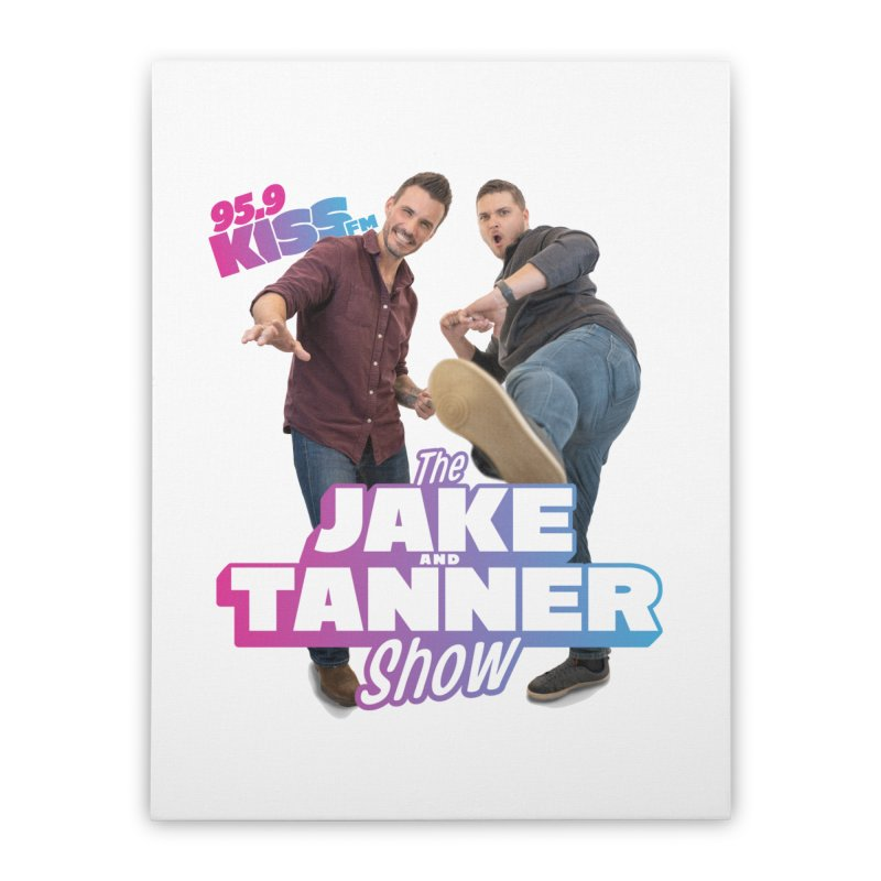 Jake & Tanner Action [2021] Home Stretched Canvas by 95.9 KISS-FM's Shop