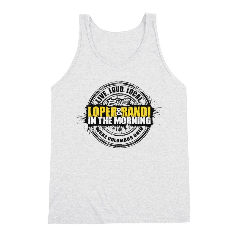 Loper & Randi Circle Logo 2021 Men's Tank by 99.7 The Blitz Rock Shop