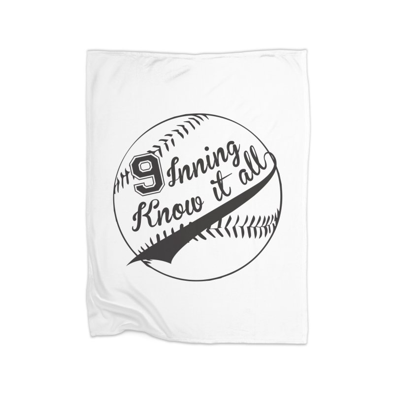 9 Inning Alternative (Clear Ball) Home Blanket by 9 Inning Know It All Apparel and Merchandise
