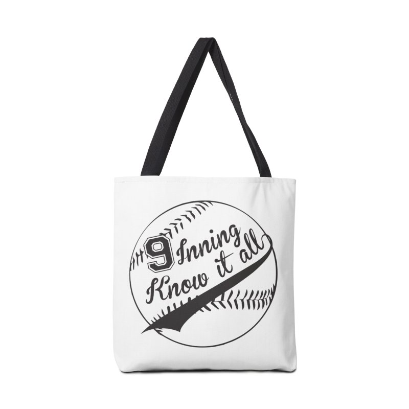 9 Inning Alternative (Clear Ball) Accessories Bag by 9 Inning Know It All Apparel and Merchandise