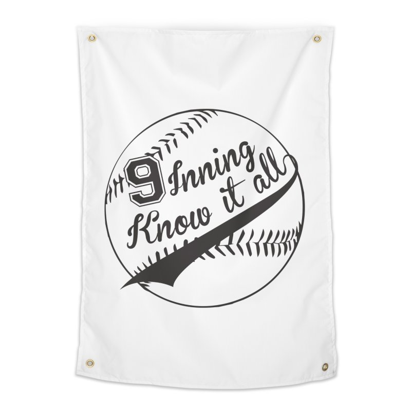 9 Inning Alternative (Clear Ball) Home Tapestry by 9 Inning Know It All Apparel and Merchandise