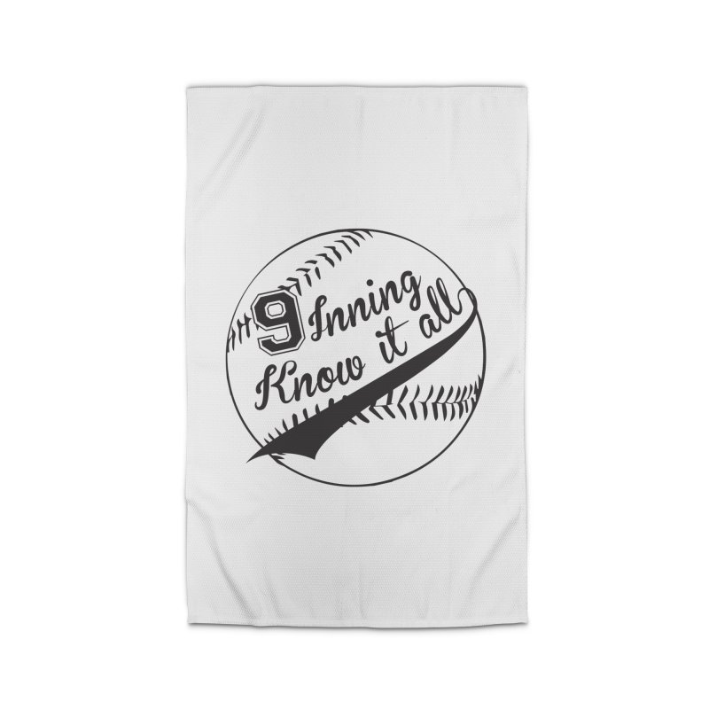 9 Inning Alternative (Clear Ball) Home Rug by 9 Inning Know It All Apparel and Merchandise