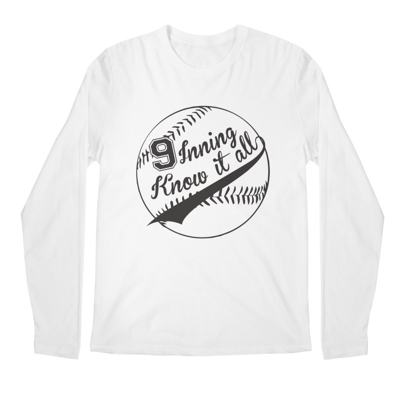 9 Inning Alternative (Clear Ball) Men's Regular Longsleeve T-Shirt by 9 Inning Know It All Apparel and Merchandise