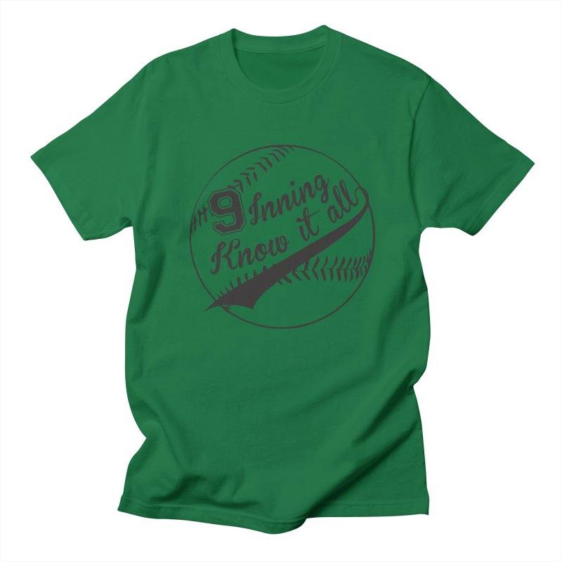 9 Inning Alternative (Clear Ball) Women's Regular Unisex T-Shirt by 9 Inning Know It All Apparel and Merchandise