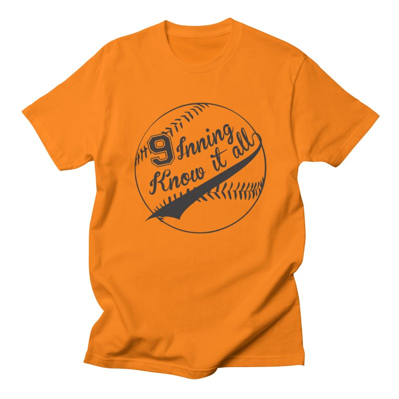9 Inning Alternative (Clear Ball) Men's Regular T-Shirt by 9 Inning Know It All Apparel and Merchandise