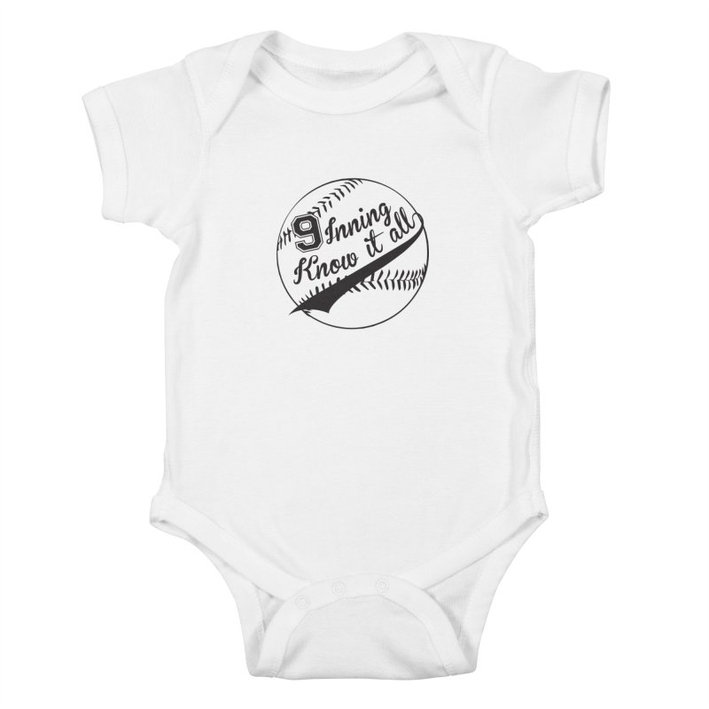 9 Inning Alternative (Clear Ball) Kids Baby Bodysuit by 9 Inning Know It All Apparel and Merchandise