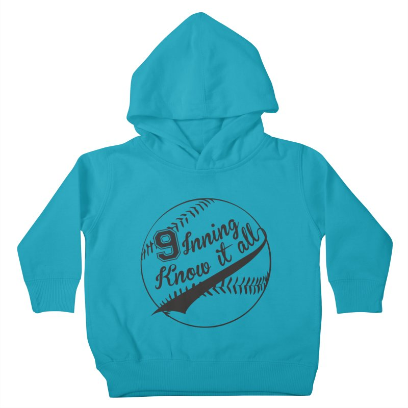 9 Inning Alternative (Clear Ball) Kids Toddler Pullover Hoody by 9 Inning Know It All Apparel and Merchandise