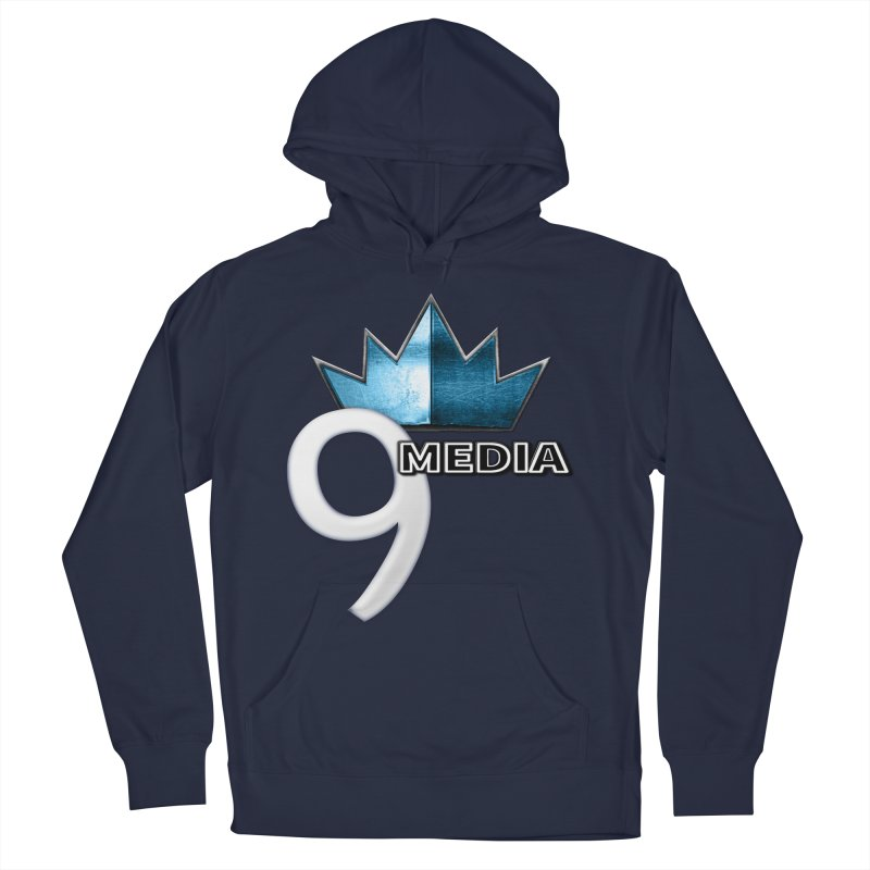 9 Media (Official) Women's French Terry Pullover Hoody by 9Media's Artist Shop