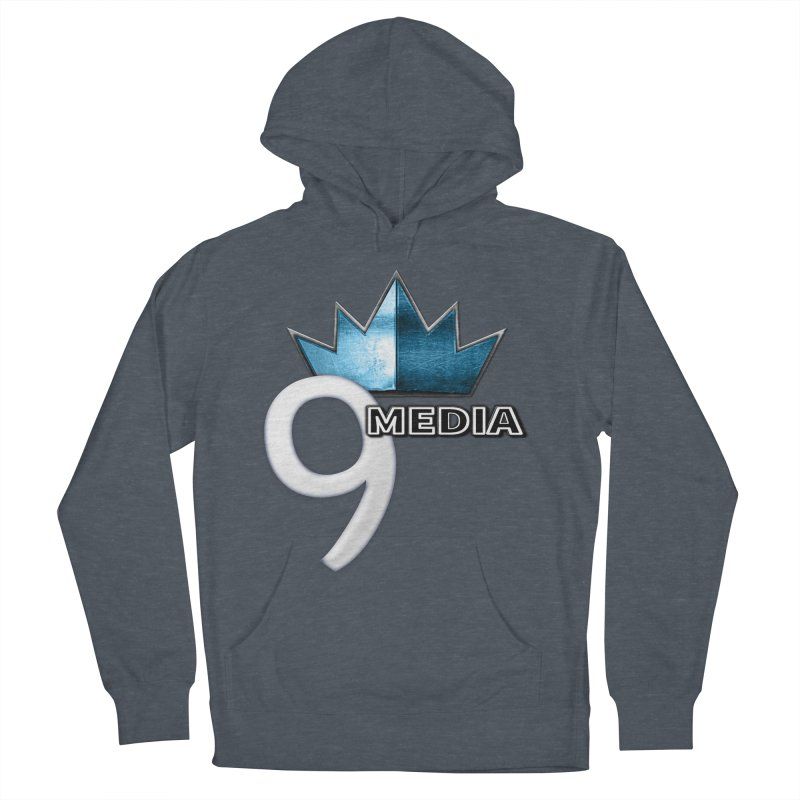 9 Media (Official) Men's French Terry Pullover Hoody by 9Media's Artist Shop