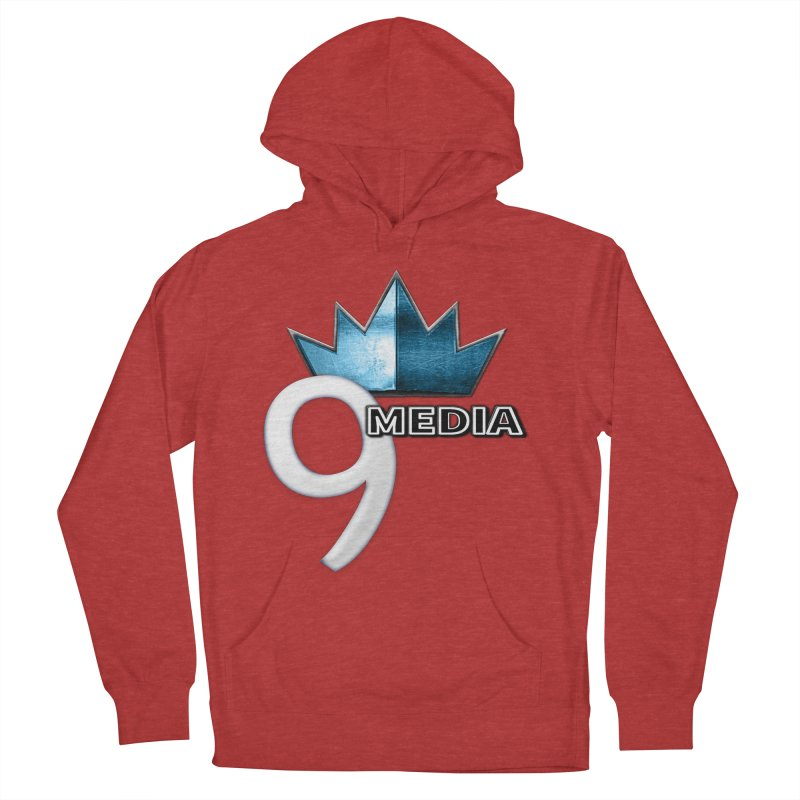 9 Media (Official) Men's French Terry Pullover Hoody by 9 Media