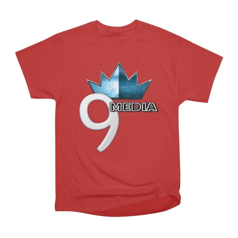 9 Media (Official) Men's Heavyweight T-Shirt by 9 Media