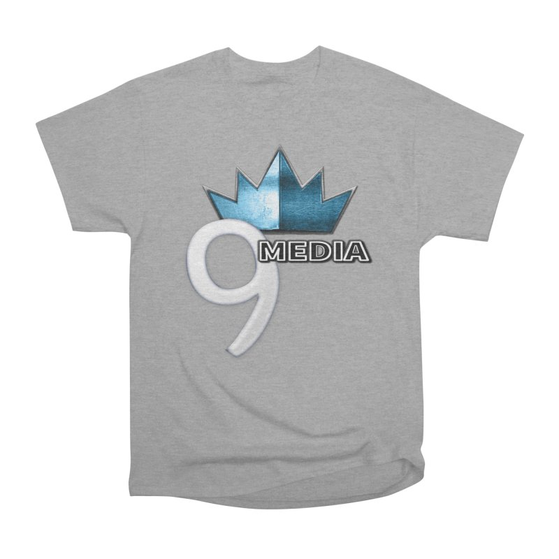 9 Media (Official) Men's Heavyweight T-Shirt by 9Media's Artist Shop