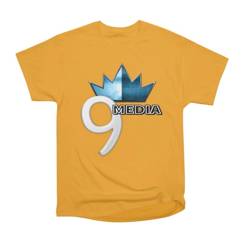 9 Media (Official) Men's Heavyweight T-Shirt by 9Media's Artist Shop