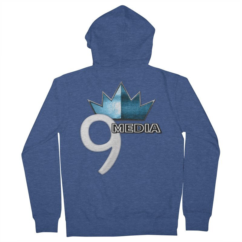 9 Media (Official) Women's French Terry Zip-Up Hoody by 9 Media