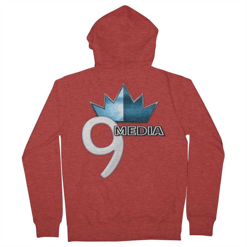 9 Media (Official) Women's Zip-Up Hoody by 9Media's Artist Shop