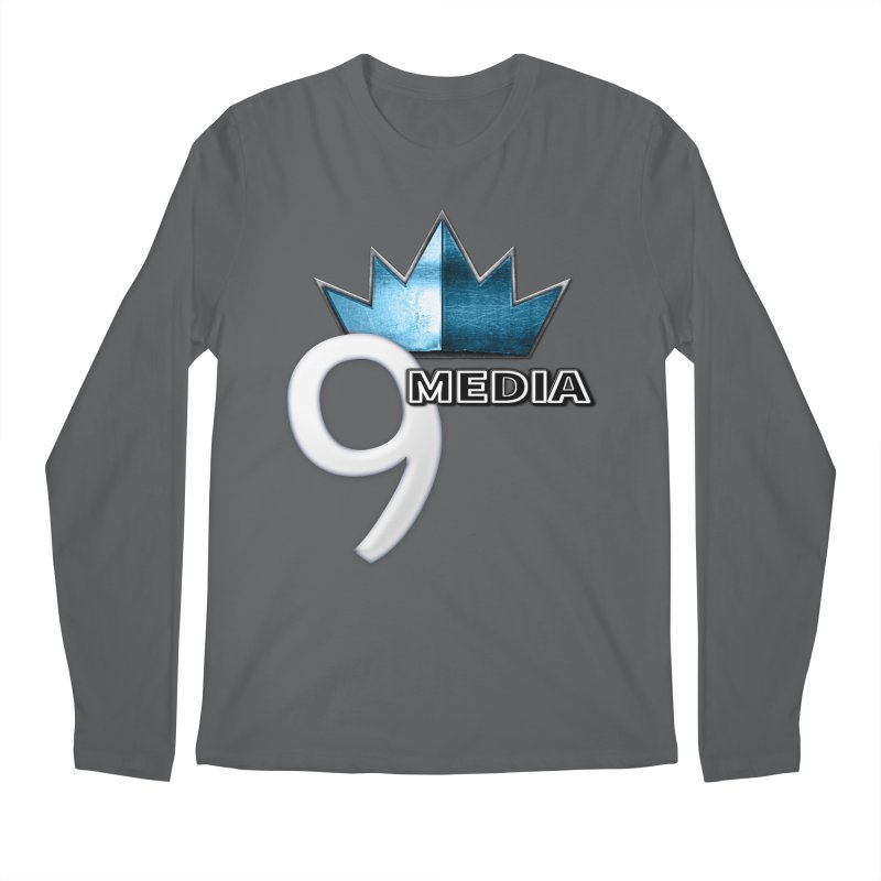 9 Media (Official) Men's Regular Longsleeve T-Shirt by 9Media's Artist Shop