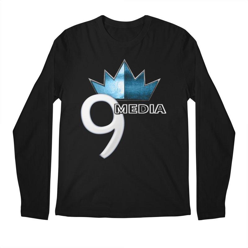 9 Media (Official) Men's Longsleeve T-Shirt by 9Media's Artist Shop