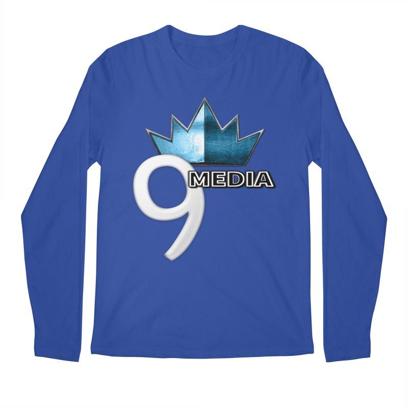 9 Media (Official) Men's Regular Longsleeve T-Shirt by 9 Media