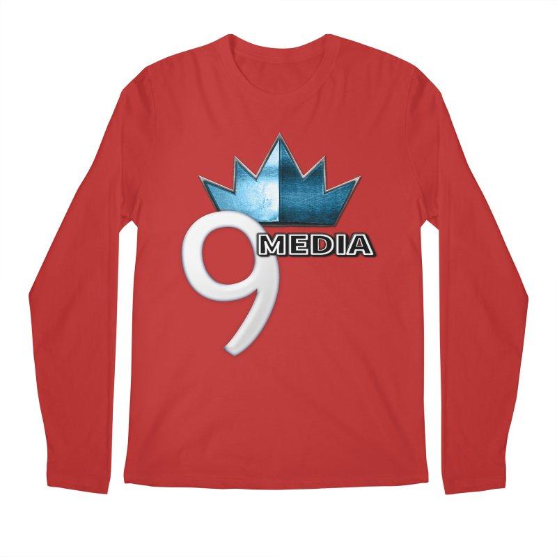 9 Media (Official) Men's Regular Longsleeve T-Shirt by 9Media's Artist Shop