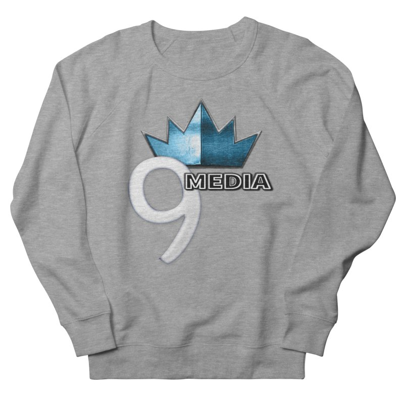 9 Media (Official) Men's French Terry Sweatshirt by 9 Media