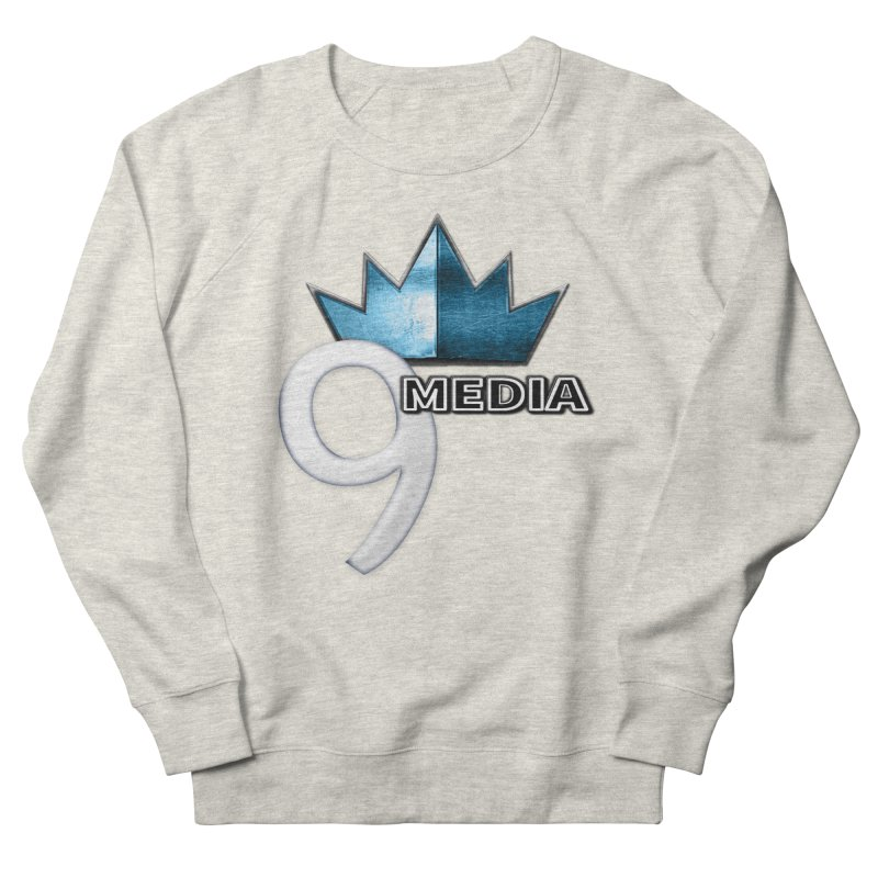 9 Media (Official) Men's French Terry Sweatshirt by 9Media's Artist Shop