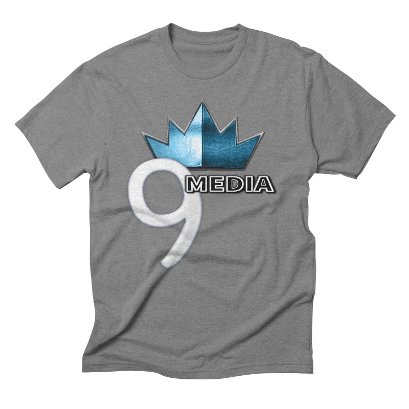 9 Media (Official) Men's Triblend T-shirt by 9Media's Artist Shop