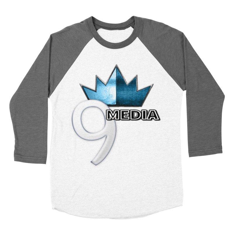 9 Media (Official) Women's Baseball Triblend Longsleeve T-Shirt by 9 Media