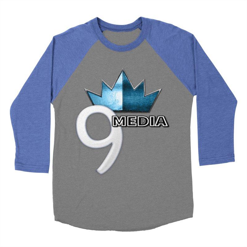 9 Media (Official) Women's Baseball Triblend Longsleeve T-Shirt by 9Media's Artist Shop