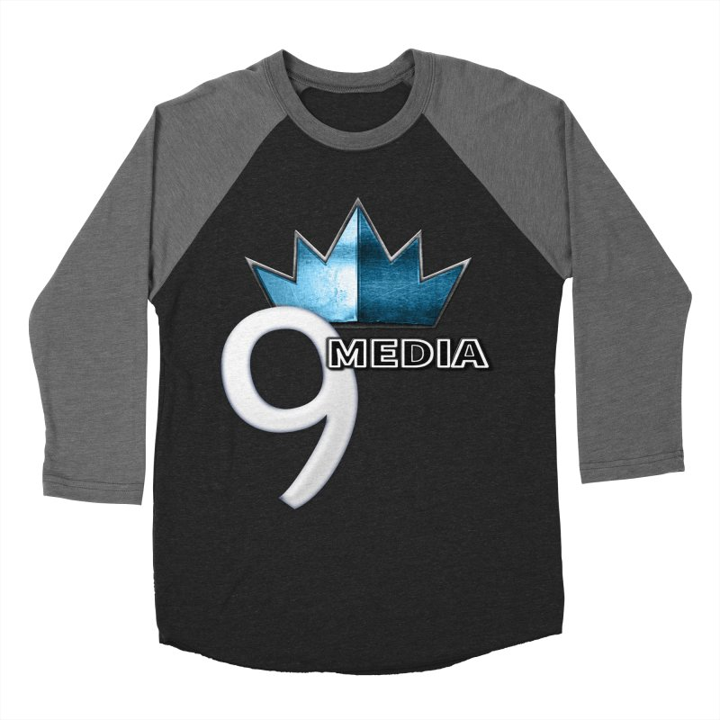 9 Media (Official) Women's Baseball Triblend Longsleeve T-Shirt by 9 Media