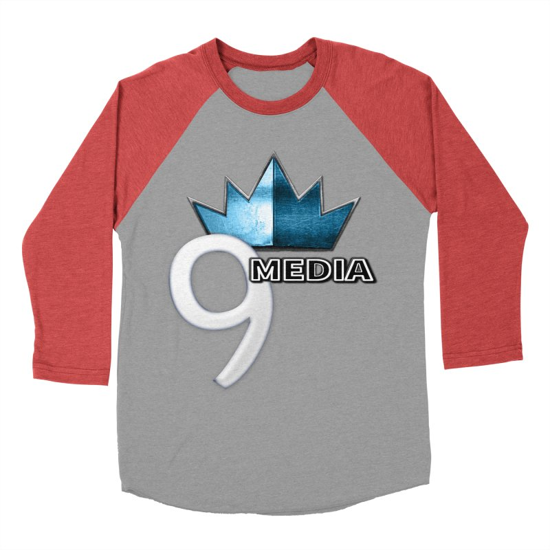 9 Media (Official) Men's Baseball Triblend T-Shirt by 9Media's Artist Shop