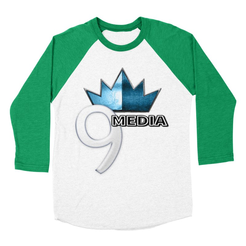 9 Media (Official) Men's Baseball Triblend Longsleeve T-Shirt by 9Media's Artist Shop