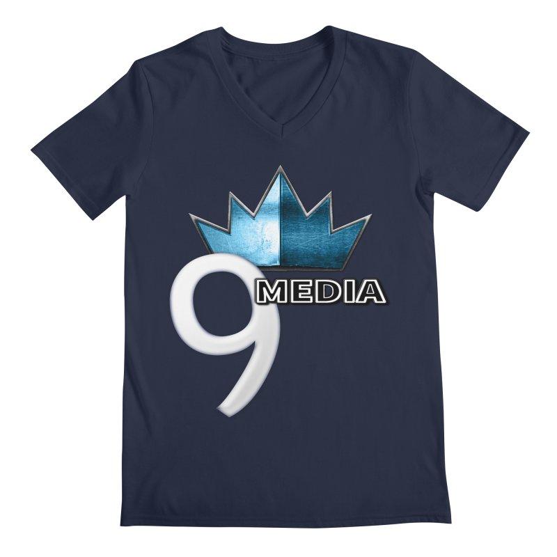 9 Media (Official) Men's V-Neck by 9Media's Artist Shop